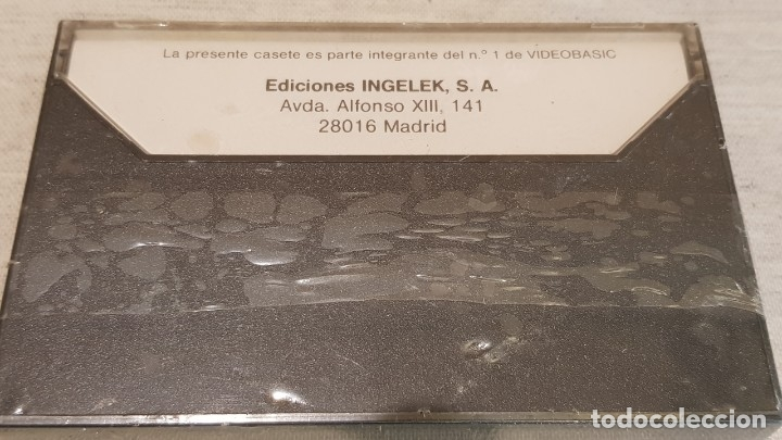 Videojuegos y Consolas: COMMODORE C-64 / 1 / VIDEO BASIC / INGELEK JACKSON / PRECINTADO. - Foto 2 - 146083410
