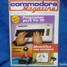 Videojuegos y Consolas: COMMODORE MAGAZINE Nº 9 - NOVIEMBRE 1984. Lote 146446526