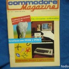Videojuegos y Consolas: -COMMODORE MAGAZINE Nº 7 - SEPTIEMBRE 1984. Lote 146446886