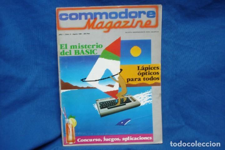 -COMMODORE MAGAZINE Nº 6 - AGOSTO 1984 (Juguetes - Videojuegos y Consolas - Commodore)