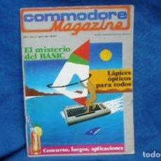 Videojuegos y Consolas: -COMMODORE MAGAZINE Nº 6 - AGOSTO 1984. Lote 146447402