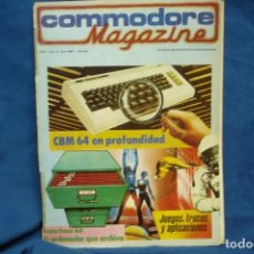 Videojuegos y Consolas: -COMMODORE MAGAZINE Nº 2 - ABRIL 1984. Lote 146447790