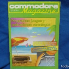 Videojuegos y Consolas: -COMMODORE MAGAZINE Nº 18 - AGOSTO 1985. Lote 146448406