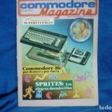 Videojuegos y Consolas: COMMODORE MAGAZINE Nº 12 - FEBRERO 1985. Lote 146448786