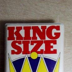 Videojuegos y Consolas: KING SIZE 50 GAMES- CASSETTE COMMODORE 16/PLUS 4-GENIAL ESTUCHE BLANCO-ROBTEK-AÑO 1986.DIFÍCIL.. Lote 146562758