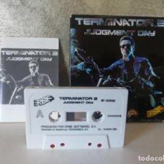 Videojuegos y Consolas: TERMINATOR 2 EN CAJA ORDENADOR COMMODORE . Lote 146740174