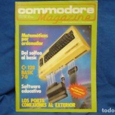 Videojuegos y Consolas: COMMODORE MAGAZINE Nº 25 - MARZO 1986. Lote 146945006