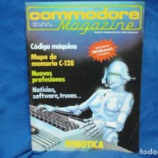 Videojuegos y Consolas: -COMMODORE MAGAZINE Nº 28 - JUNIO 1986. Lote 146945830