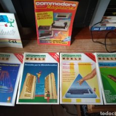 Videojuegos y Consolas: COMMODORE WORLD LOTE. Lote 148291070