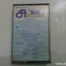 Videojuegos y Consolas: JUEGO '64 TAPE COMPUTING Nº 1' COMMODORE. Lote 148358630