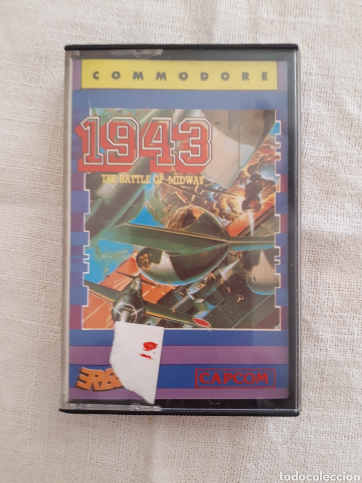 CASSETTE JUEGO 1943 SPECTRUM AMSTRAD COMMODORE (Juguetes - Videojuegos y Consolas - Commodore)