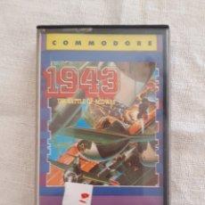 Videojuegos y Consolas: CASSETTE JUEGO 1943 SPECTRUM AMSTRAD COMMODORE. Lote 151357238