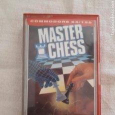 Videojuegos y Consolas: CASSETTE JUEGO MASTER CHESS COMMODORE 64/128. Lote 151357410