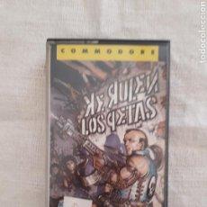 Videojuegos y Consolas: CASSETTE JUEGO KE RULEN LOS PETAS COMMODORE 64. Lote 151357706