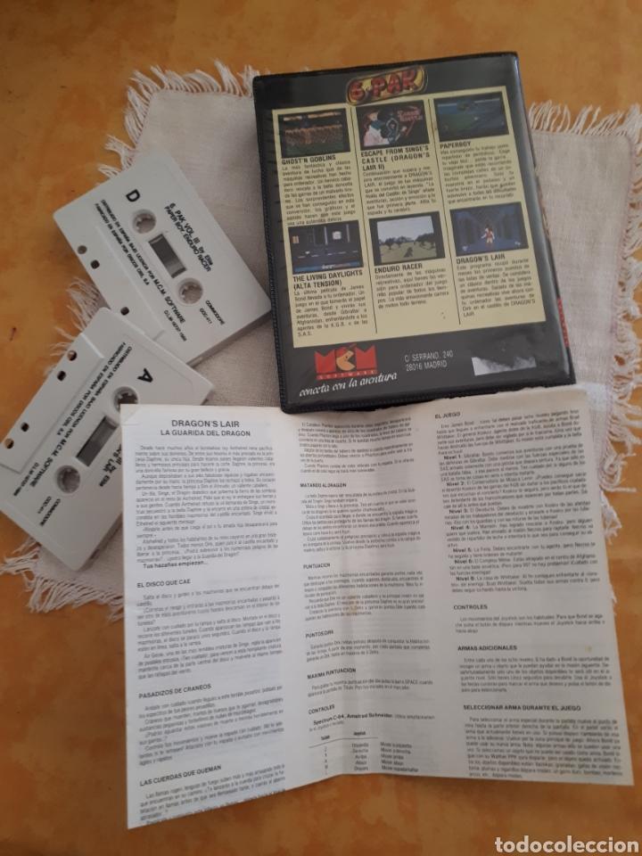 Videojuegos y Consolas: Cassette doble juego 6 Pak Commodore - Foto 3 - 151359146