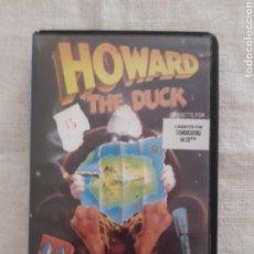 Videojuegos y Consolas: CASSETTE JUEGO HOWARD THE DUCK COMMODORE 64/128. Lote 151359386