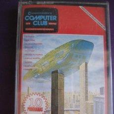Videojuegos y Consolas: COMMODORE COMPUTER CLUB Nº9 - 10 PROGRAMAS - SLALOM - DONUTS - ALLIENS +7 - PRECINTADO SIN ESTRENAR. Lote 155710078
