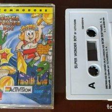 Videojuegos y Consolas: SUPER WONDER BOY COMMODORE. Lote 155956342