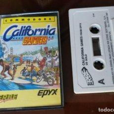 Videojuegos y Consolas: CALIFORNIA GAMES COMMODORE. Lote 155957338