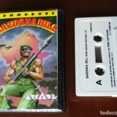 Videojuegos y Consolas: BAZOOKA BILL COMMODORE ESTUCHE. Lote 155960542