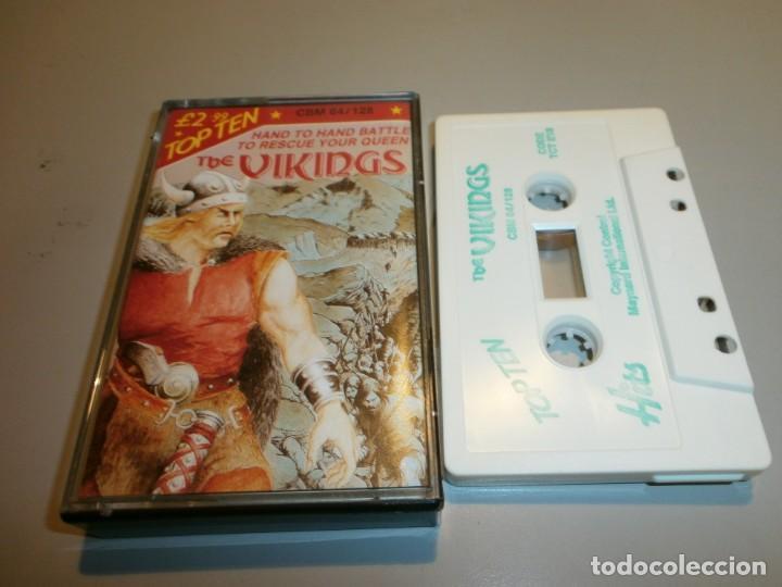 DIFICIL JUEGO COMMODORE THE VIKINGS (Juguetes - Videojuegos y Consolas - Commodore)