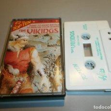 Videojuegos y Consolas: DIFICIL JUEGO COMMODORE THE VIKINGS. Lote 160602930