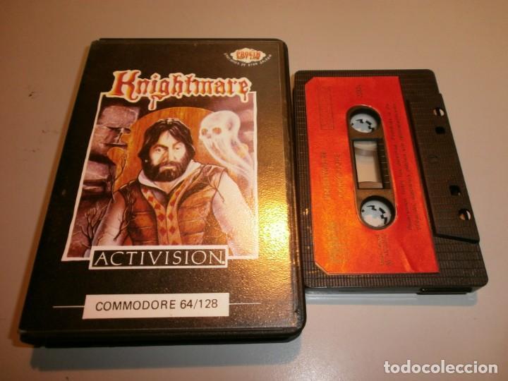 DIFICIL JUEGO COMMODORE KNIGHTMARE (Juguetes - Videojuegos y Consolas - Commodore)
