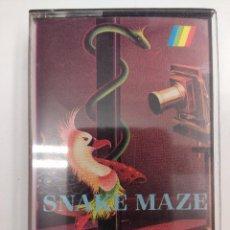 Videojuegos y Consolas: JUEGO SINCLAIR-SPECTRUM/SNAKE MAZE.. Lote 160834514