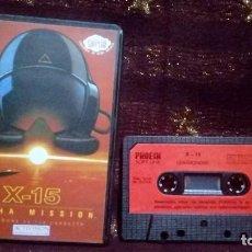 Videojuegos y Consolas: COMODORE 64 JUEGO X-15 ALPHA MISSION - CASSETTE.. Lote 162989274