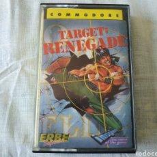 Videojuegos y Consolas: TARGET: RENEGADE COMMODORE. Lote 166048273