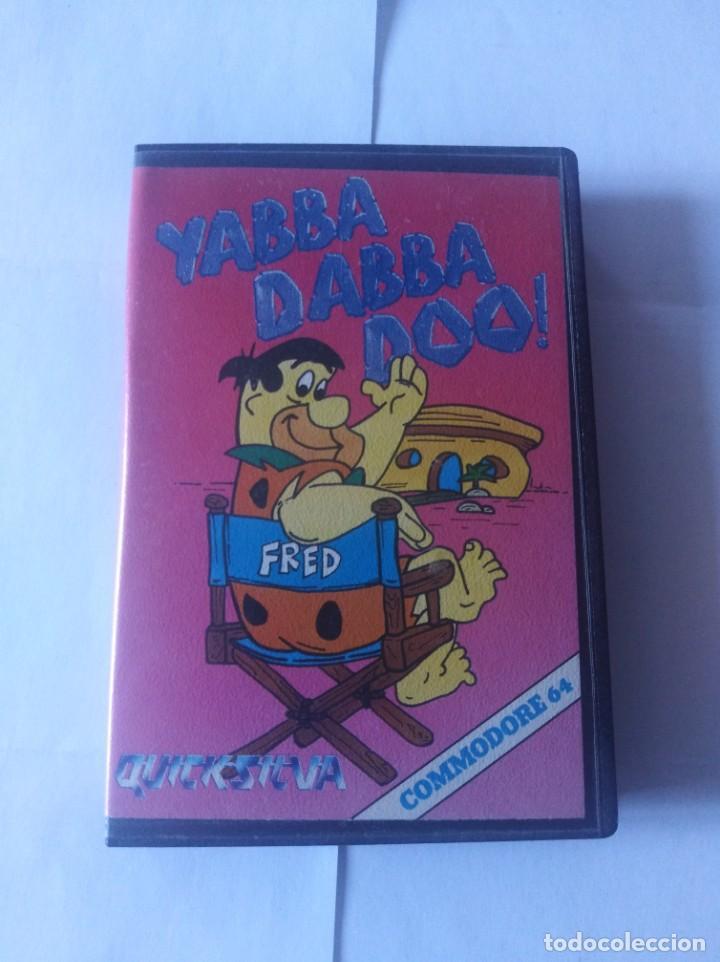 JUEGO LOS PICAPIEDRA YABBA DABBA DOO COMMODORE 64 (Juguetes - Videojuegos y Consolas - Commodore)