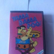 Videojuegos y Consolas: JUEGO LOS PICAPIEDRA YABBA DABBA DOO COMMODORE 64. Lote 166139738