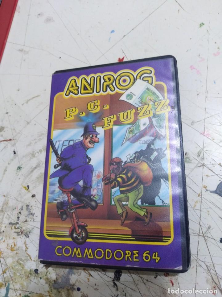 JUEGO ANIROG PC FUZZ COMMODORE 64 (Juguetes - Videojuegos y Consolas - Commodore)