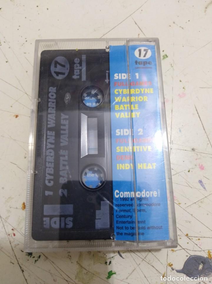 Videojuegos y Consolas: Juego Commodore 3 en 1 battle valley- cyberdyne warrior- indy hat - Foto 2 - 166639458