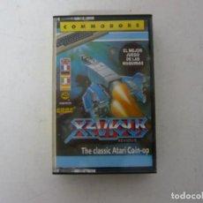 Videojuegos y Consolas: XEVIOUS - COMMODORE 64 / RETRO VINTAGE / CLÁSICO / CASSETTE. Lote 167038616