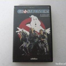 Videojuegos y Consolas: GHOSTBUSTERS - COMMODORE 64 / RETRO VINTAGE / CLÁSICO / CASSETTE. Lote 167039248