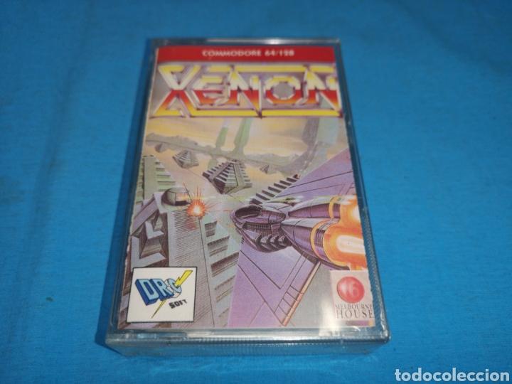JUEGO COMMODORE 64/128 XENON, SIN DESPRECINTAR (Juguetes - Videojuegos y Consolas - Commodore)