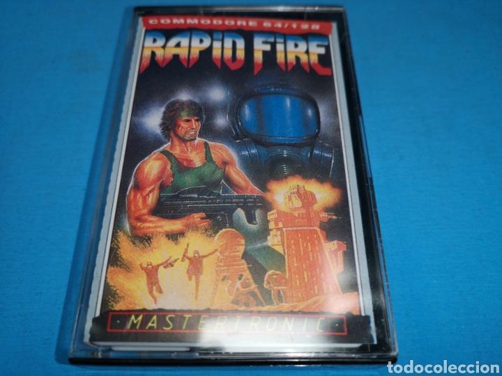 JUEGO COMMODORE 64, RAPID FIRE (Juguetes - Videojuegos y Consolas - Commodore)