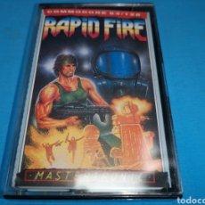 Videojuegos y Consolas: JUEGO COMMODORE 64, RAPID FIRE. Lote 167781186
