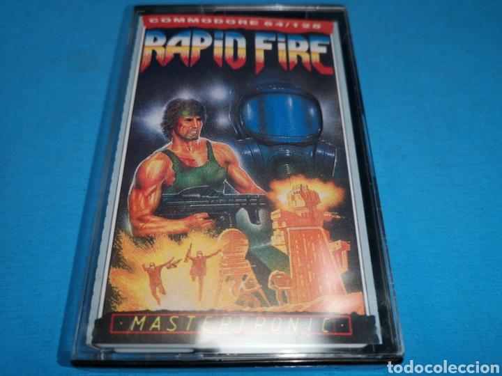 Videojuegos y Consolas: Juego Commodore 64, rapid fire - Foto 2 - 167781186