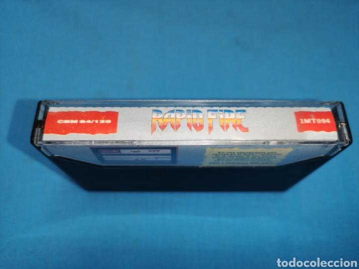 Videojuegos y Consolas: Juego Commodore 64, rapid fire - Foto 4 - 167781186