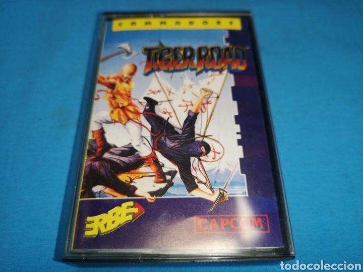 JUEGO COMMODORE 64, TIGER ROAD BY U. S. GOLD (Juguetes - Videojuegos y Consolas - Commodore)