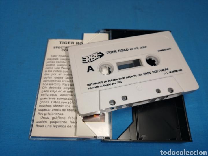 Videojuegos y Consolas: Juego Commodore 64, tiger road by u. S. Gold - Foto 4 - 167784981