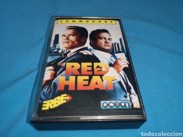 Videojuegos y Consolas: Juego Commodore 64, red heat by ocean software - Foto 2 - 167785701