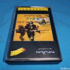 Videojuegos y Consolas: JUEGO COMMODORE 64, CAPITÁN FIZZ BY PSYGNOSIS. Lote 167786941