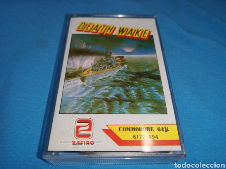 JUEGO COMMODORE 64, DEATH WAKE (Juguetes - Videojuegos y Consolas - Commodore)