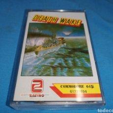 Videojuegos y Consolas: JUEGO COMMODORE 64, DEATH WAKE. Lote 167798018