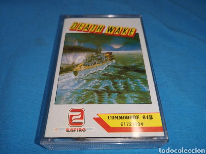 Videojuegos y Consolas: Juego Commodore 64, death wake - Foto 2 - 167798018