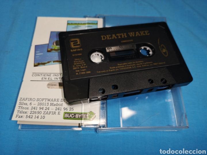 Videojuegos y Consolas: Juego Commodore 64, death wake - Foto 6 - 167798018