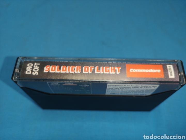 Videojuegos y Consolas: Juego Commodore 64, soldier of Light - Foto 4 - 167805166
